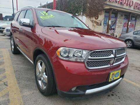 2013 Dodge Durango for sale at USA Auto Brokers in Houston TX