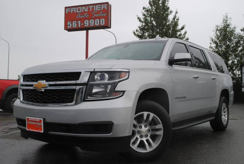 2016 Chevrolet Suburban for sale at Frontier Auto & RV Sales in Anchorage AK