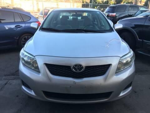2010 Toyota Corolla for sale at Aria Auto Sales in El Cajon CA