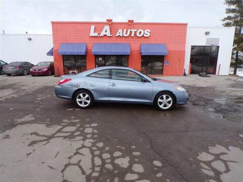 2005 Toyota Camry Solara for sale at L A AUTOS in Omaha NE