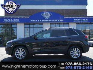 2016 Jeep Cherokee for sale at Highline Group Motorsports in Lowell MA