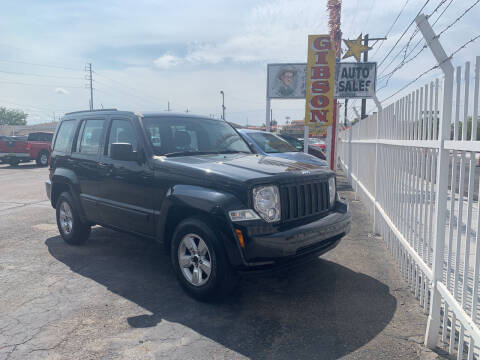 2012 Jeep Liberty for sale at Robert B Gibson Auto Sales INC in Albuquerque NM