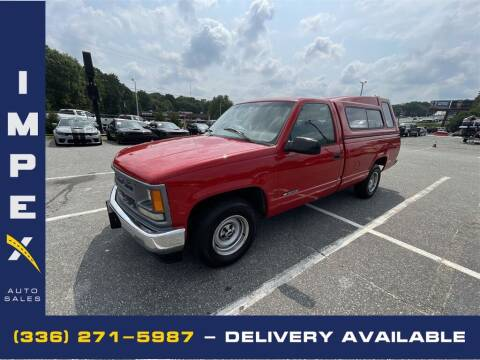 1997 Chevrolet C/K 1500 Series for sale at Impex Auto Sales in Greensboro NC