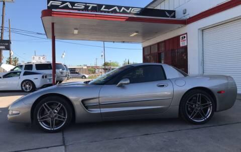 2000 Chevrolet Corvette for sale at FAST LANE AUTO SALES in San Antonio TX