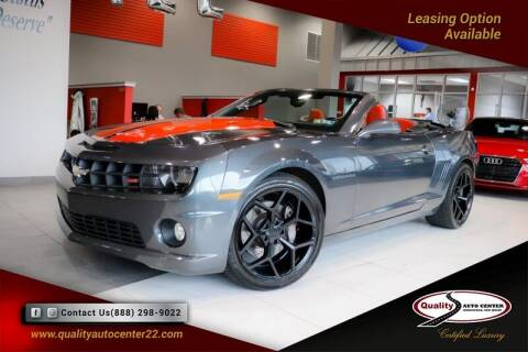 2011 Chevrolet Camaro for sale at Quality Auto Center in Springfield NJ