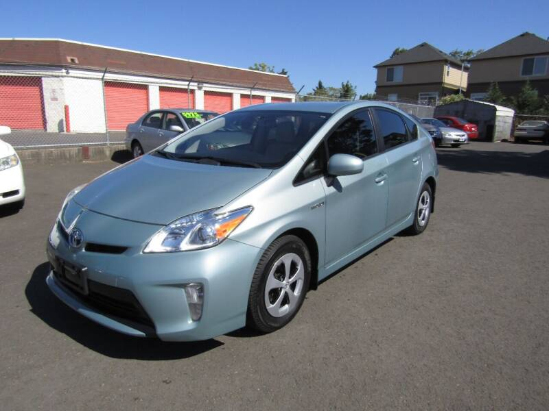 2012 Toyota Prius for sale at ARISTA CAR COMPANY LLC in Portland OR
