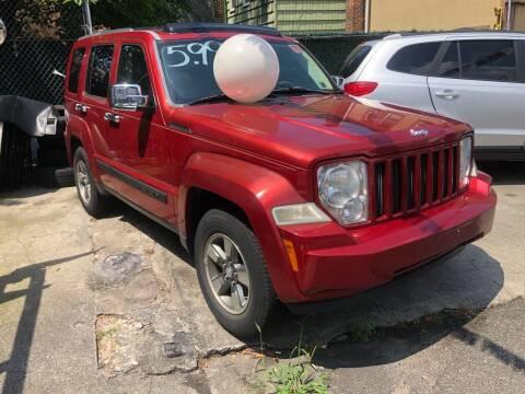 2008 Jeep Liberty for sale at GARET MOTORS in Maspeth NY