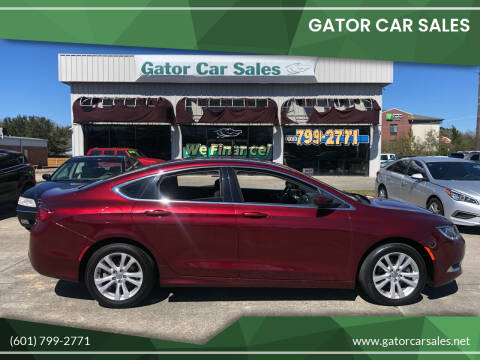 2016 Chrysler 200 for sale at Gator Car Sales in Picayune MS