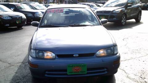 1997 GEO Prizm for sale at JIMS AUTO MART INC in Milwaukee WI