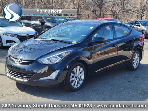 2016 Hyundai Elantra for sale at 1 North Preowned in Danvers MA