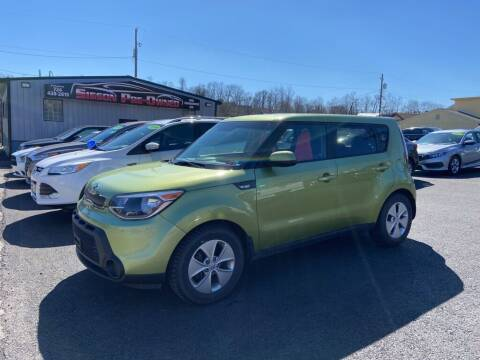 2014 Kia Soul for sale at Sisson Pre-Owned in Uniontown PA