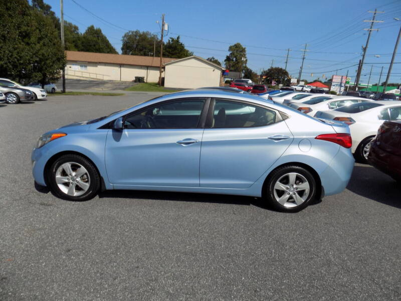 2012 Hyundai Elantra for sale at Pro-Motion Motor Co in Lincolnton NC