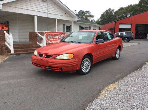 1999 Pontiac Grand Am for sale at Ace Auto Sales - $600 DOWN PAYMENTS in Fyffe AL