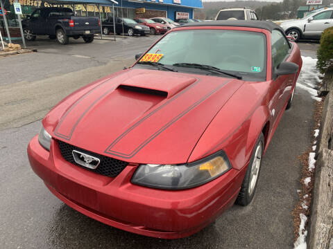2004 Ford Mustang for sale at BURNWORTH AUTO INC in Windber PA