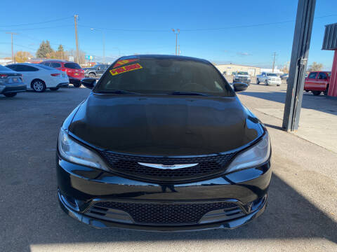 2015 Chrysler 200 for sale at Top Line Auto Sales in Idaho Falls ID