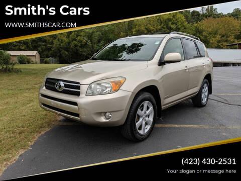 2008 Toyota RAV4 for sale at Smith's Cars in Elizabethton TN