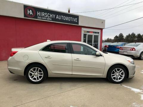 2013 Chevrolet Malibu for sale at Hirschy Automotive in Fort Wayne IN