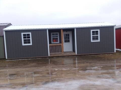 2018 PREMIER Portable Building's 12x32  Center Cabin  SOLD for sale at Dave's Auto Sales & Service - Premier Buildings in Weyauwega WI