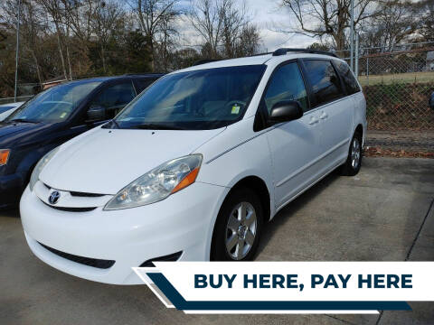 2010 Toyota Sienna for sale at TR Motors in Opelika AL