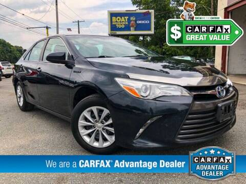 2015 Toyota Camry Hybrid for sale at High Rated Auto Company in Abingdon MD