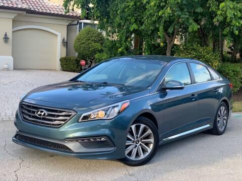 2015 Hyundai Sonata for sale at Citywide Auto Group LLC in Pompano Beach FL
