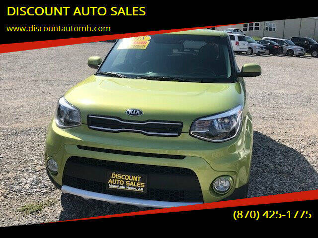 2018 Kia Soul for sale at DISCOUNT AUTO SALES in Mountain Home AR