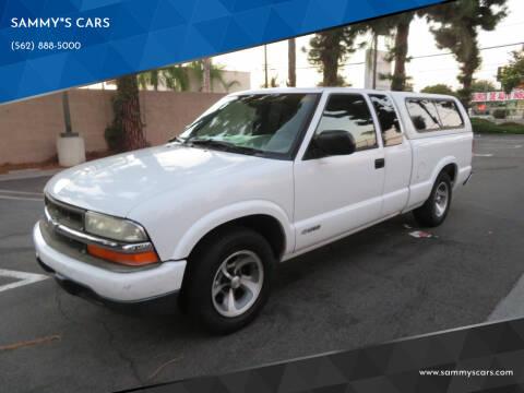 """2003 Chevrolet S-10 for sale at SAMMY""""S CARS in Bellflower CA"""
