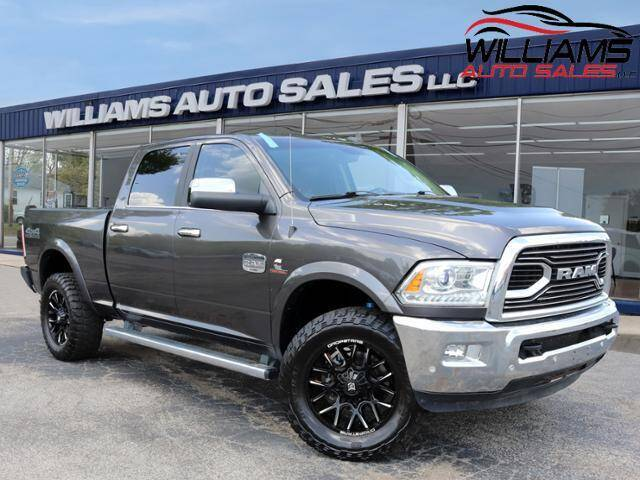 2018 RAM Ram Pickup 2500 for sale at Williams Auto Sales, LLC in Cookeville TN