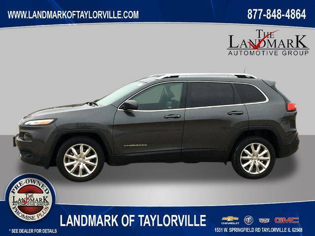 2017 Jeep Cherokee for sale at LANDMARK OF TAYLORVILLE in Taylorville IL