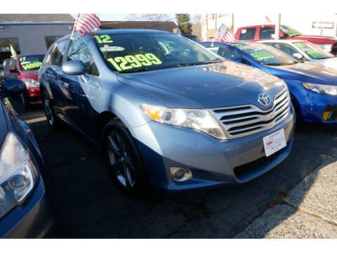 2012 Toyota Venza for sale at M & R Auto Sales INC. in North Plainfield NJ