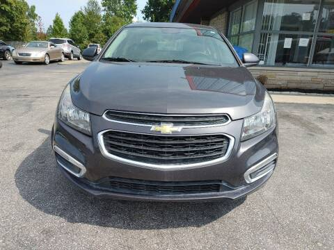 2015 Chevrolet Cruze for sale at Cruisin' Auto Sales in Madison IN