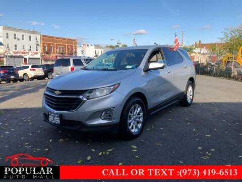 2018 Chevrolet Equinox for sale at Popular Auto Mall Inc in Newark NJ