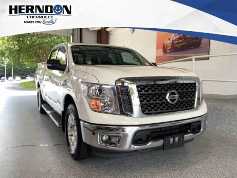 2017 Nissan Titan for sale at Herndon Chevrolet in Lexington SC