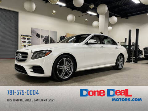 2017 Mercedes-Benz E-Class for sale at DONE DEAL MOTORS in Canton MA