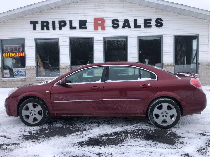 2008 Saturn Aura for sale at Triple R Sales in Lake City MN