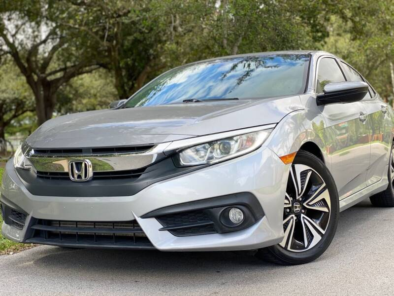 2016 Honda Civic for sale at HIGH PERFORMANCE MOTORS in Hollywood FL