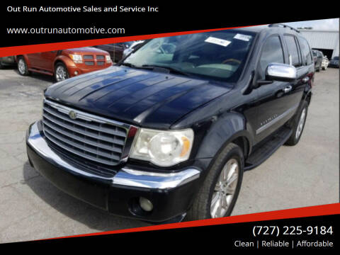 2009 Chrysler Aspen for sale at Out Run Automotive Sales and Service Inc in Tampa FL