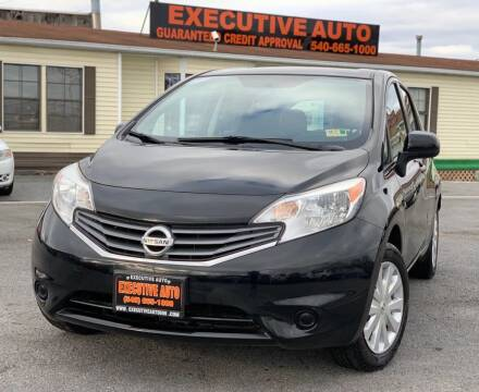 2014 Nissan Versa Note for sale at Executive Auto in Winchester VA