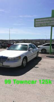 1999 Lincoln Town Car for sale at Independent Auto in Belle Fourche SD