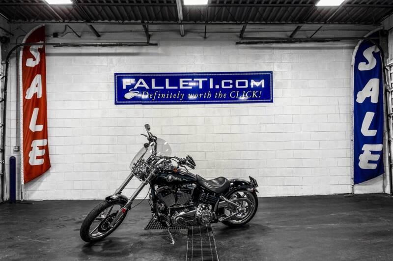 2008 Harley-Davidson Softail FXCWC for sale at Falleti Motors, Inc.  est. 1976 in Batavia NY