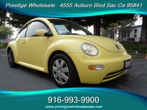 2003 Volkswagen New Beetle for sale at Prestige Wholesale in Sacramento CA