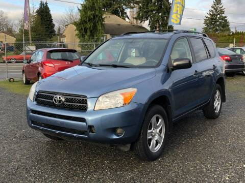 2007 Toyota RAV4 for sale at A & V AUTO SALES LLC in Marysville WA