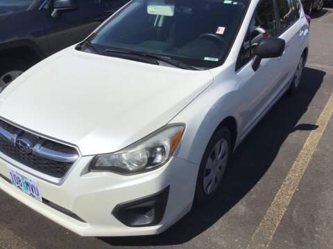 2014 Subaru Impreza for sale at Royal Moore Custom Finance in Hillsboro OR