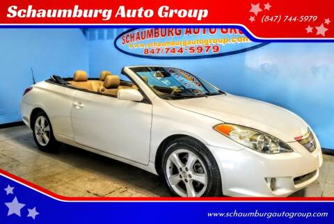 2006 Toyota Camry Solara for sale at Schaumburg Auto Group in Schaumburg IL