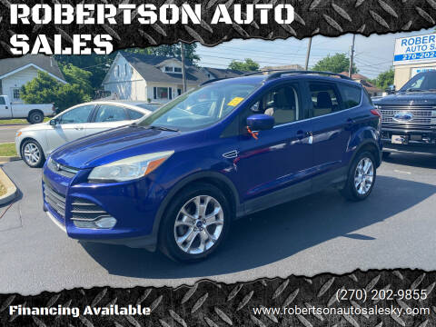 2013 Ford Escape for sale at ROBERTSON AUTO SALES in Bowling Green KY