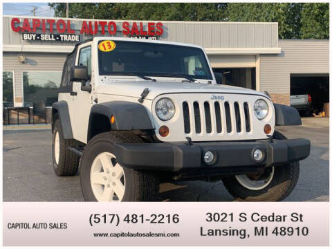 2013 Jeep Wrangler for sale at Capitol Auto Sales in Lansing MI