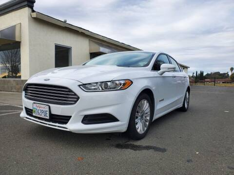 2016 Ford Fusion Hybrid for sale at 707 Motors in Fairfield CA