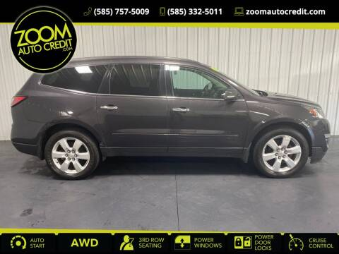 2016 Chevrolet Traverse for sale at ZoomAutoCredit.com in Elba NY