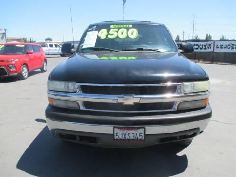 2000 Chevrolet Tahoe for sale at Quick Auto Sales in Modesto CA