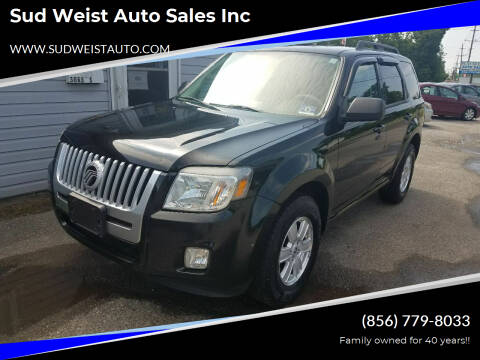 2010 Mercury Mariner for sale at Sud Weist Auto Sales Inc in Maple Shade NJ